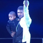 Like Father Like Sons! Usher Hits the Stage With His Mini-Me's… [PHOTOS]