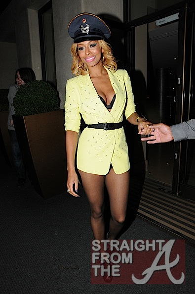 Keri Hilson No Skirt