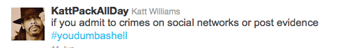Katt Williams Tweet