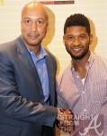 former New Orleans mayor Ray Nagin and Usher Raymond
