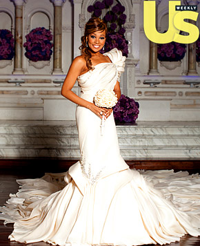 US Magazine Recently Released The Photo Above Of Monicas Extraordinary Wedding