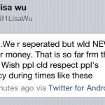 Lisa Wu Tweet