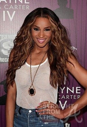 Ciara  on August 28, 2011 in Los Angeles, California.