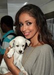 Mya and Puppies 1