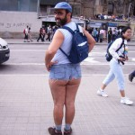 Man in Booty Shorts