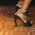 Brandy Performs Shoes