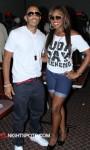 Ludacris and Meeka Claxton at CAU