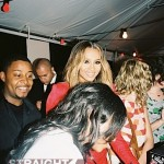 Ciara in Red at Party