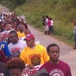 Killer Mike Troy Davis Protest 5