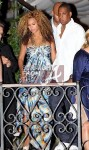 Pregnant Beyonce and Jay-Z in Venice 3