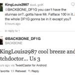 Backbone tweets