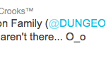 Dungeon Family Tweet