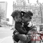 Swizz Beatz and Daughter