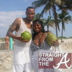 Tionna Smalls on Vacation