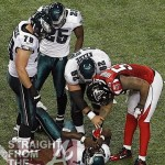 Michael Vick Suffers Concussion Against Falcons + If He Were White…