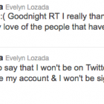 evelyn tweets
