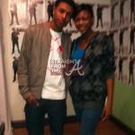 Diggy Simmons and Kim