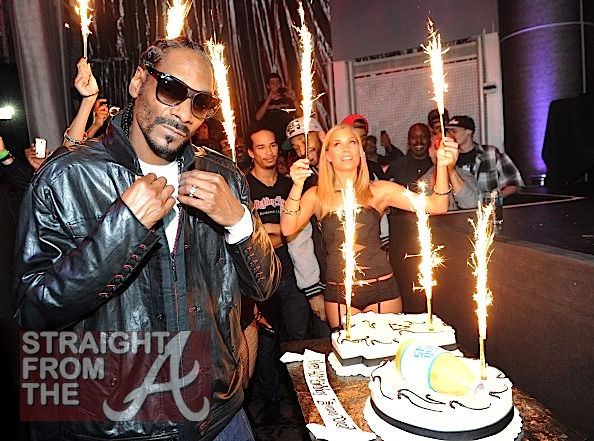 Snoop Dogg 40th Birthday Cake