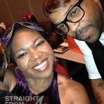 Michelle ATLien Brown and Cheez (Denier Smith)