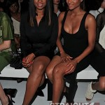 Pick One: Jennifer Hudson's Lacefront or Ciara's Nipples? ~ J-Hud & CiCi Front Row at Givenchy [PHOTOS]