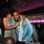 Kanye and Tracee Ellis Ross