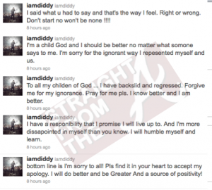 Diddy Tweets 1