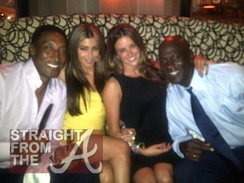 Girlfriend michael jordan Michael Jordan's