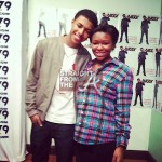 Diggy Simmons and Jalynn