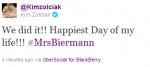 Kim Zolciak Tweet