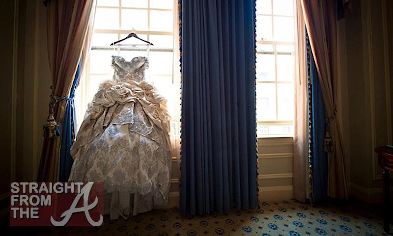 Kim Zolciak Wedding Gown