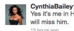 Cynthia Tweet