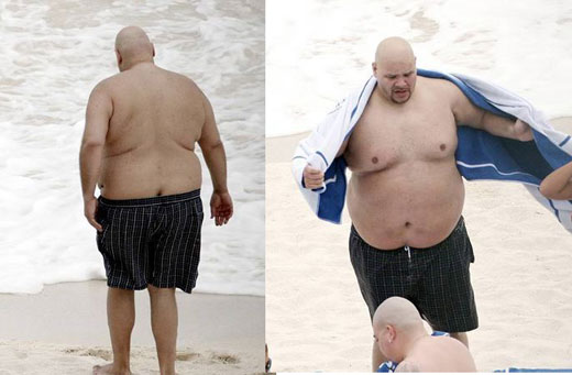 I want to see fat joe naked