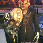 Keyshia Cole & Daniel Gibson - halloween-2011