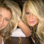 Brielle and Kim Zolciak