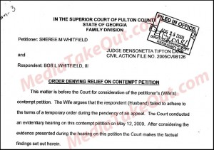Whitfield Court Documents