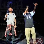 All SMOKED OUT! Wiz Khalifa & Snoop Dogg Perform in Atlanta… [PHOTOS + VIDEO]