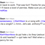 Keri Hilson Tweet 4