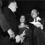 Martin Luther King, Jr.; Coretta Scott King; Hubert Humphrey