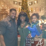 Jennifer Hudson David Otunga & Son