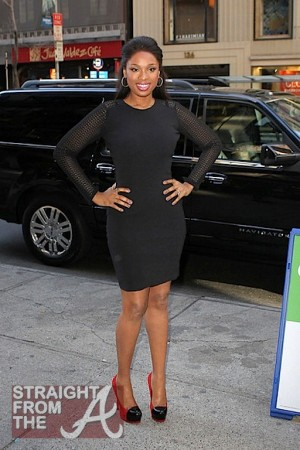 Jennifer Hudson NYC 011112-8