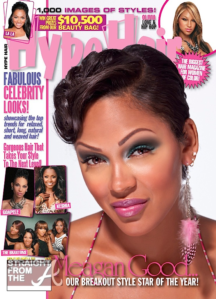 """Cover Shots: Meagan Good is Hype Hair\'s """"Breakout Star of ..."""