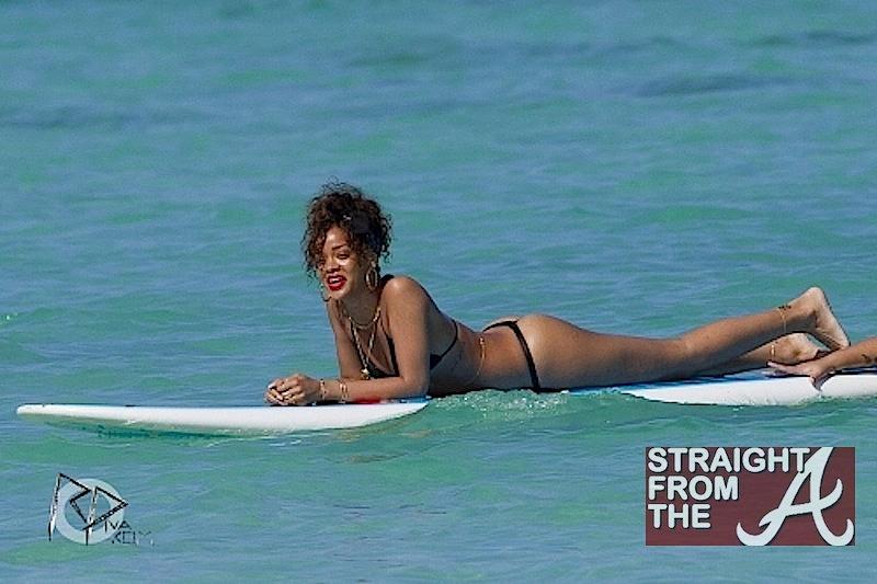 Rihanna thong bikini