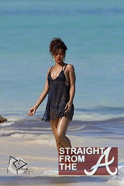 10240449867 Look! It s Rihanna… in a THONG!  PHOTOS  - Straight From The A  SFTA ...