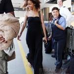 Rihanna at LAX 012212-15