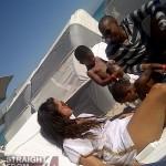 Rocsi Usher V on Beach