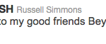 Russell Simmons Tweet