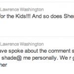 Lawrence Washington Tweet