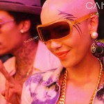 Tatted Up ~ Amber Rose Gets Her Face Inked… (NOT!) [PHOTOS]