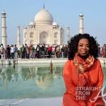 Oprah Visits Taj Mahal