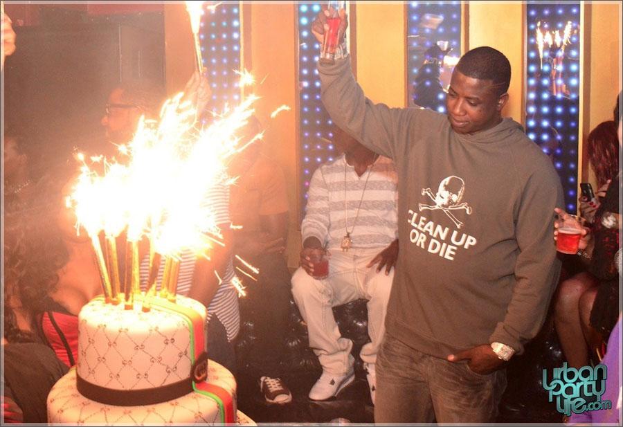 Gucci Mane Birthday Cake